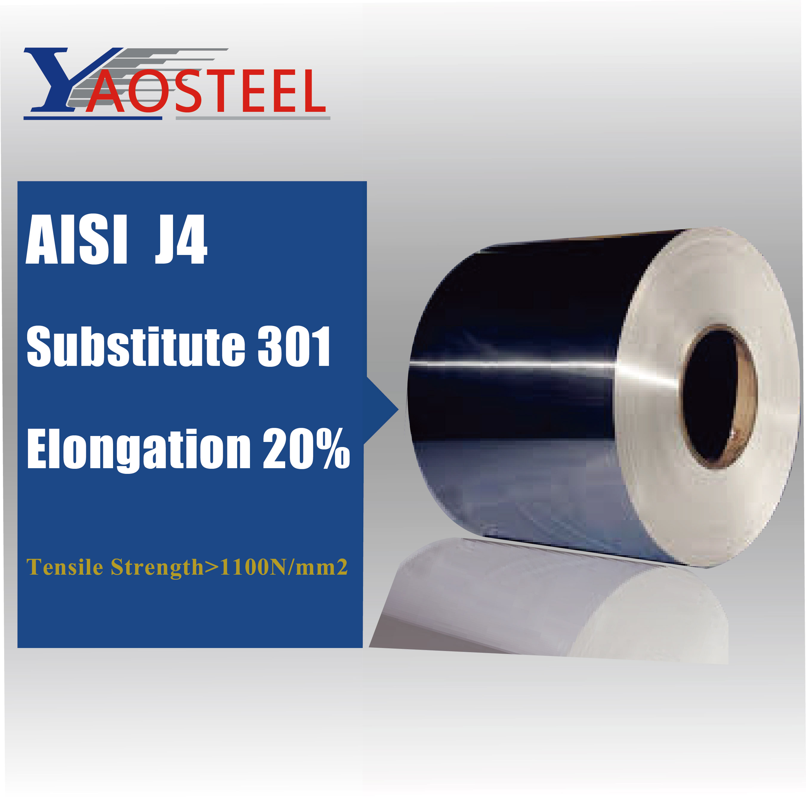 J4 stainless steel coil